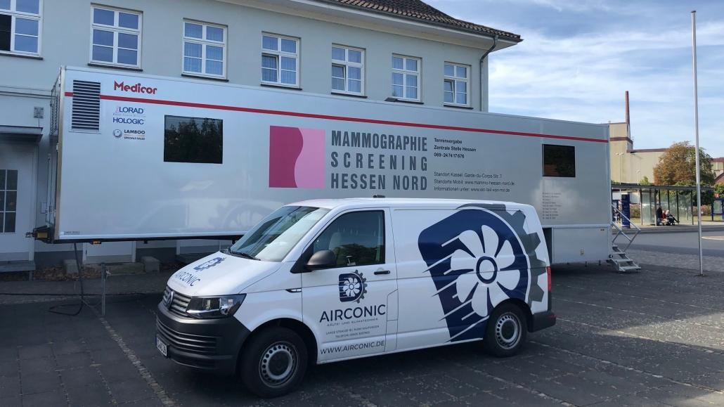 Mammographie Screening Kassel Klimatisierung - Mobil HESSEN NORD