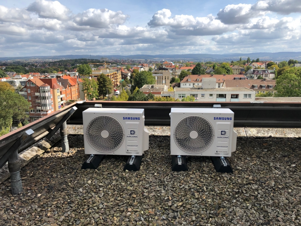 Samsung WindFree Klimaanlage Seniorenresidenz MUNDOS Kassel
