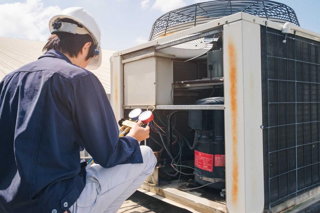 Klimaanlage Reparatur Wartung Messung